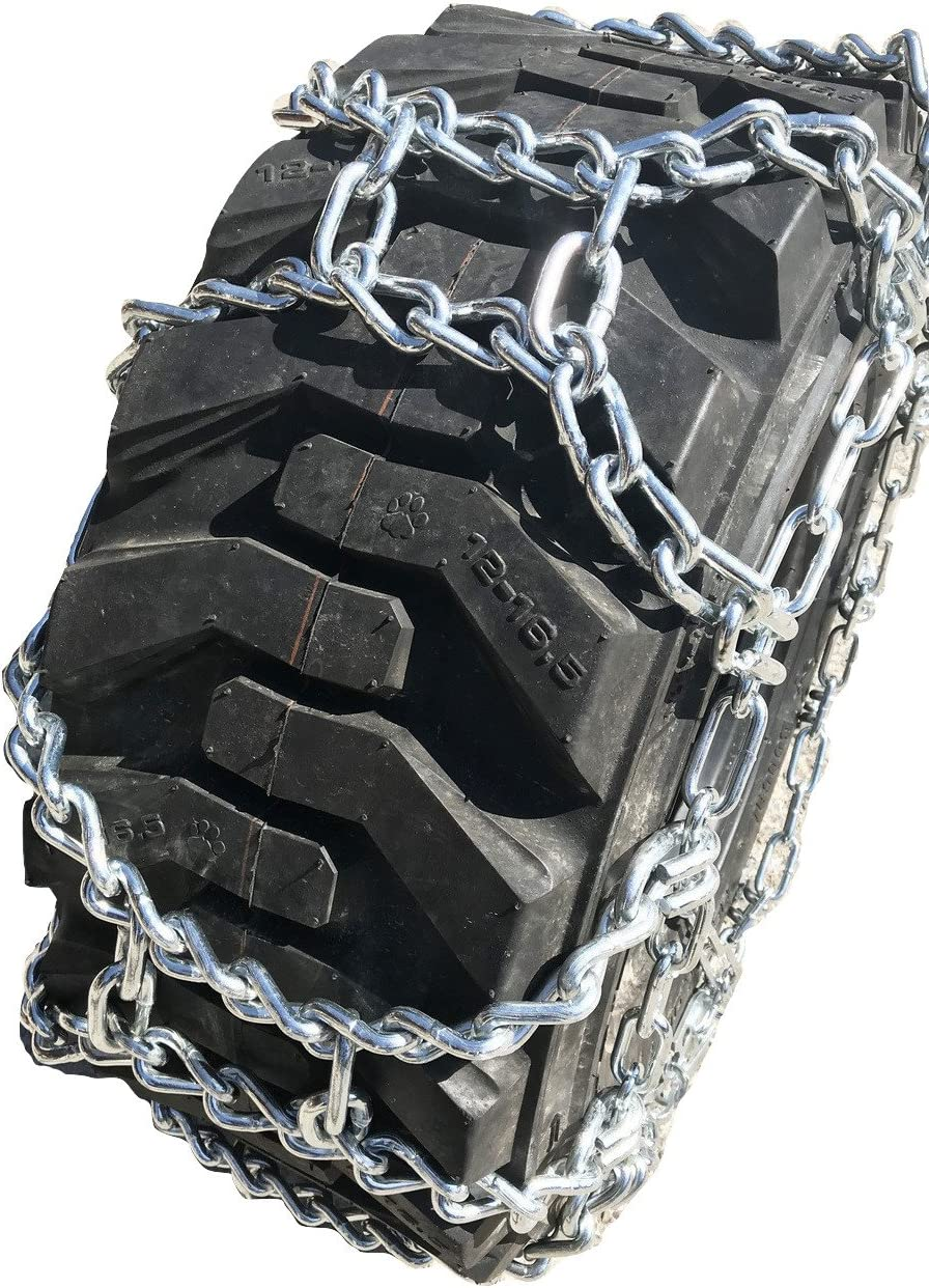 355 80 20 Duo Grip Tractor Tire Chains Set of 2 TireChain.com 355//80R20