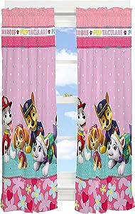 Paw Patrol Girl Kids Room Darkening Window Curtain Panels Drapes Set, 82