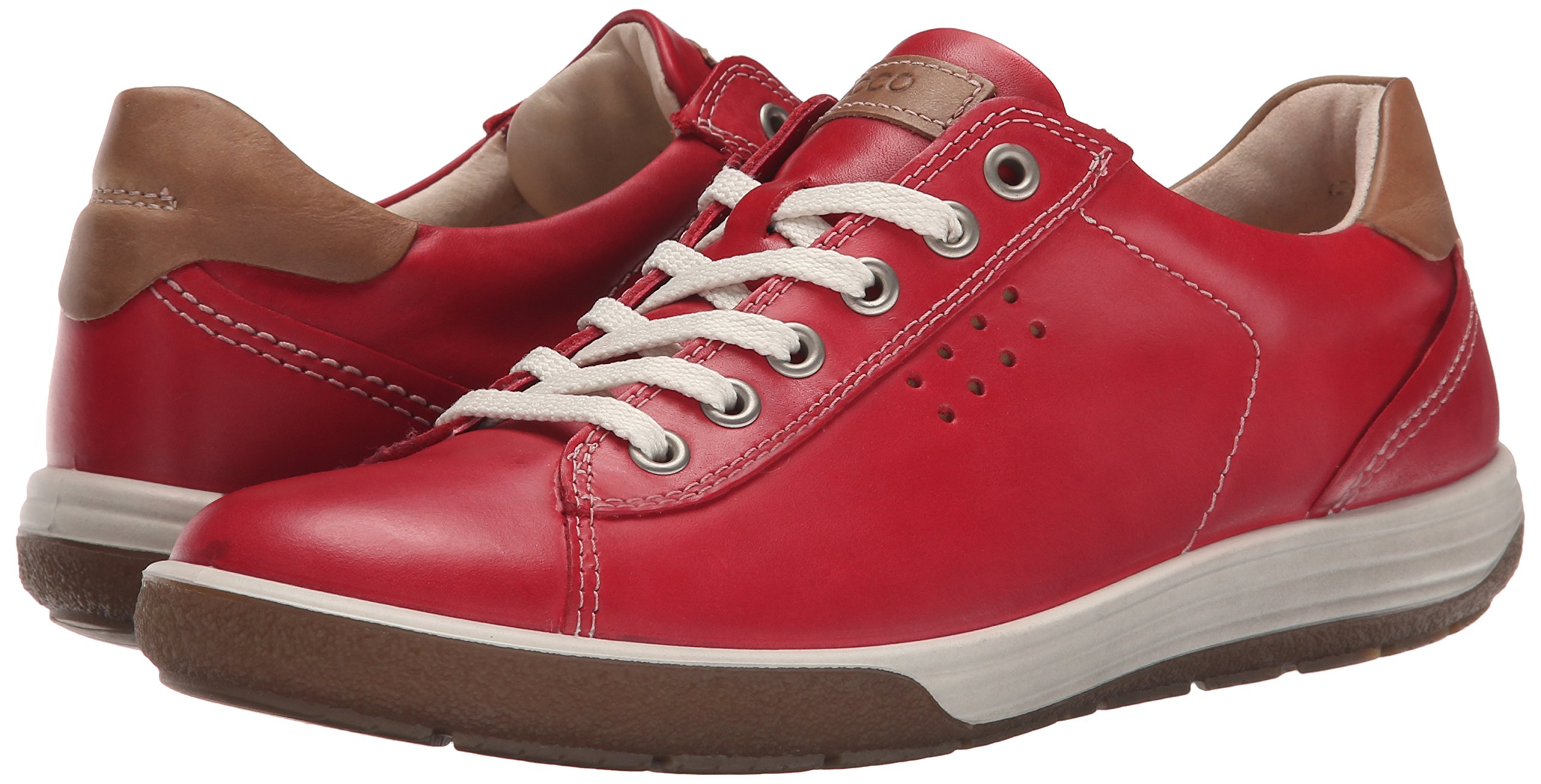 ECCO Footwear Womens Chase Tie Sneaker, Chilli Red, 39 EU/8-8.5 M US by ECCO (Image #6)