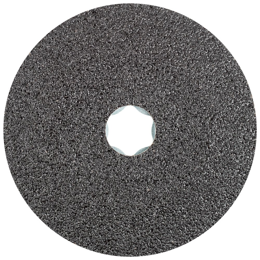 PFERD 40021 Combiclick Fibre Disc, Silicon Carbide Sic, 4-1/2'' Diameter, 13300 RPM, 36 Grit (Pack of 25)