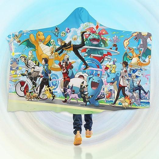 Aj Wallpaper 3d Manta Con Capucha Para Pokemon B474 Manta
