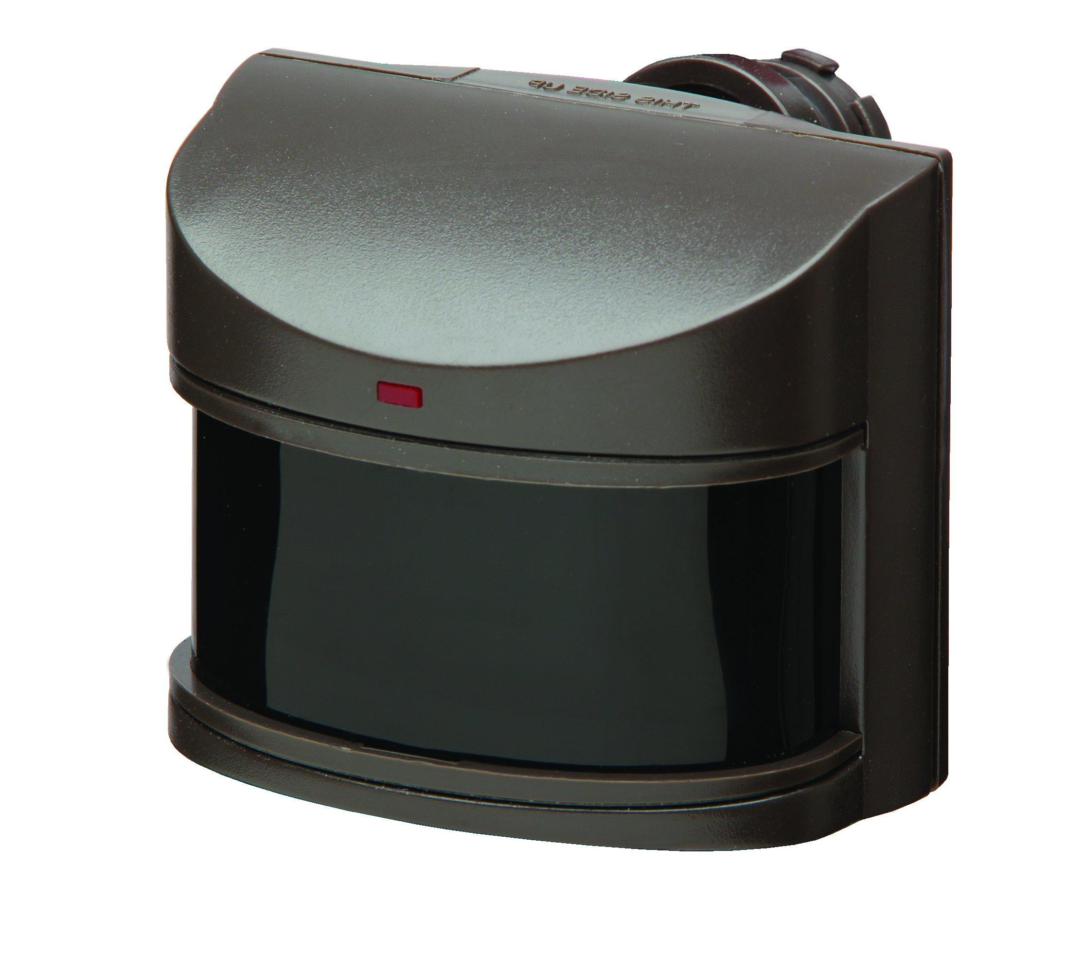 Best Rated In Motion Detectors Helpful Customer Reviews Sensor Light Wiring Heath Zenith Hz 5316 Bz Deluxe Replacement With Dualbrite Bronze