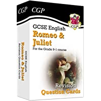 New Grade 9-1 GCSE English Shakespeare - Romeo & Juliet Revision Question Cards
