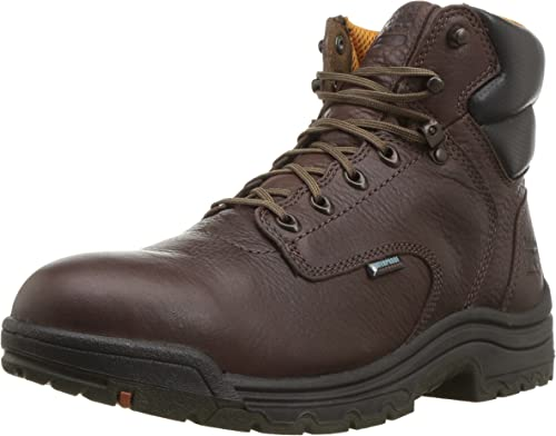 Timberland PRO Mens Titan 6 Safety-Toe Boot