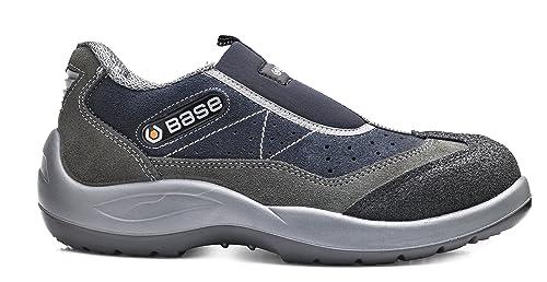 5363c060 Base bo440 Mechanic S3 Seguridad Antideslizante de titanio para hombre slip  on zapatos: Amazon.es: Bricolaje y herramientas
