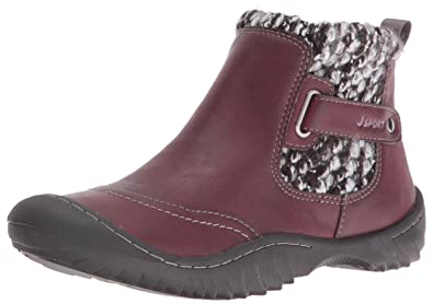 JSport by Jambu Women's Darcie Boot, Burgundy, ...