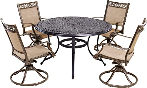 dali 5 Piece Patio Dining Set Outdoor Furniture