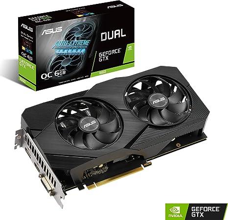 Placa de Vídeo Asus GeForce GTX 1660 6GB GDDR5 OC DUAL: Amazon.com ...
