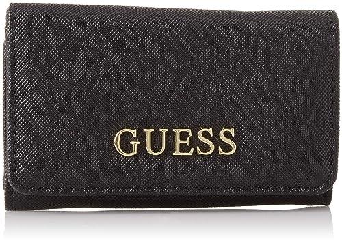 Guess Did I Say 90 , Etuis porte-clés femme, Noir (Black Bla), 10.5x6.5x2  cm (W x H L)  Amazon.fr  Chaussures et Sacs 7badfe81544