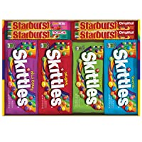 30-Count Skittles and Starburst Fruity Candy Variety Box Deals
