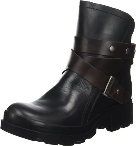 Fly London Damen Mok Biker Boots