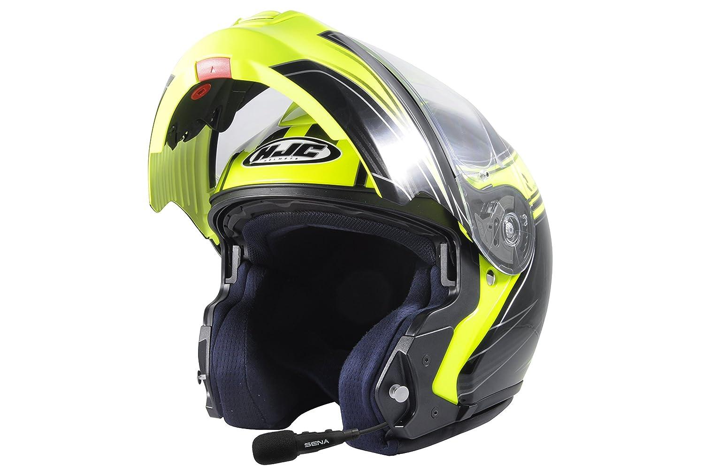 con Indicaci/ón de Voz en Franc/és Preinstalado para Scooters y Motocicletas Sena 3S-B-FR Auricular e Intercomunicador Bluetooth