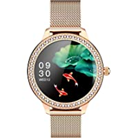 Astrum SN91 Smart Watch for Women Bluetooth Fitness Tracker with Heart Rate Sleep Blood Pressure Monitor Calories…