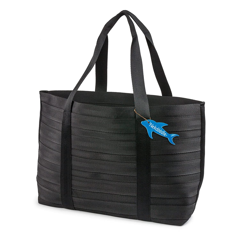 Nekdoodle Stylish Heavy Duty Beach Shopping Weekend Washable Tote Bag