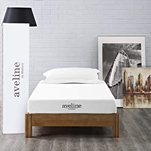 "Modway Aveline 6"" Gel Infused Memory Foam Twin Mattress"