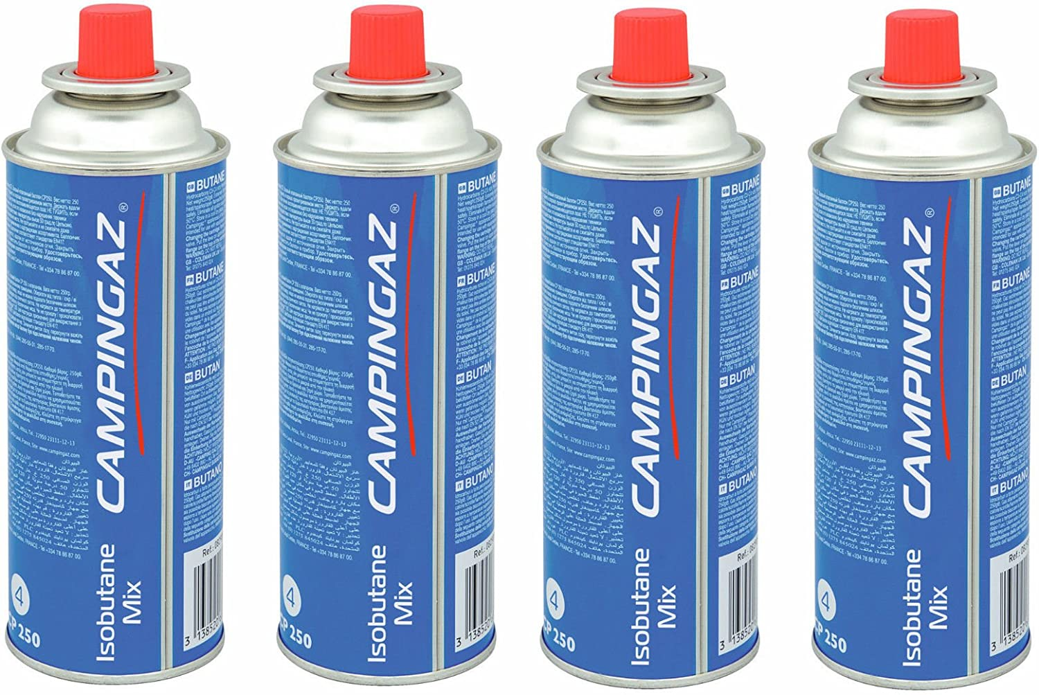 for Camp Bistro and 4 pack Blue Campingaz CP 250 Valve Gas Cartridge