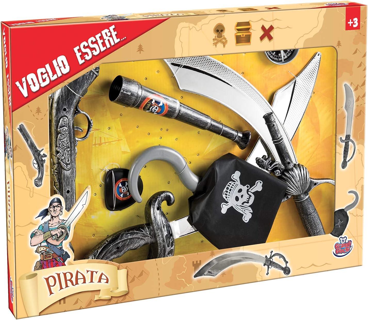 GG16000 Grandi Giochi-GG16000 Armi Pirati Bambino 3+ Multicolore