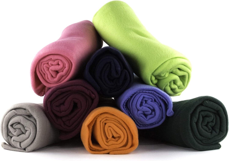 Amazon Com 50 X 60 Inch Ultra Soft Fleece Throw Blanket Wholesale Case Pack 24 Home Kitchen