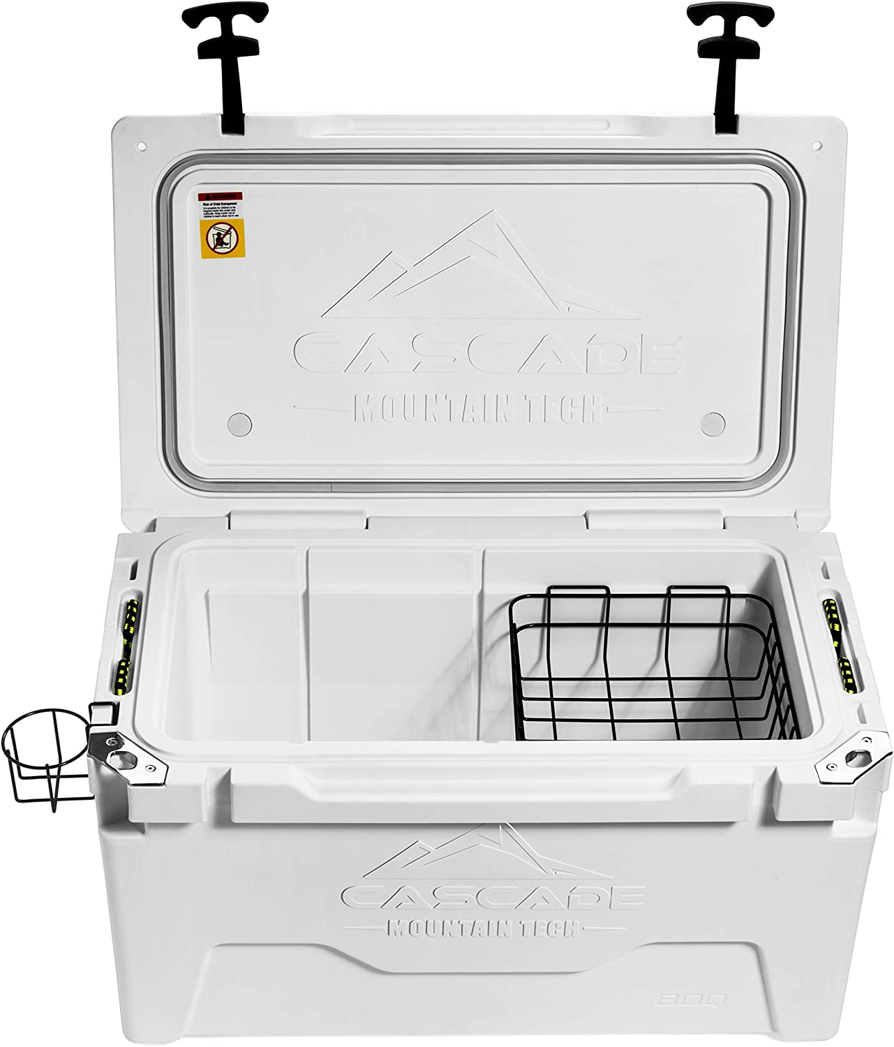 BBQs Duty Cooler Built-In Bottle Opener for Camping Cascade Mountain Tech Heavy Tailgating /& Outdoor Activities