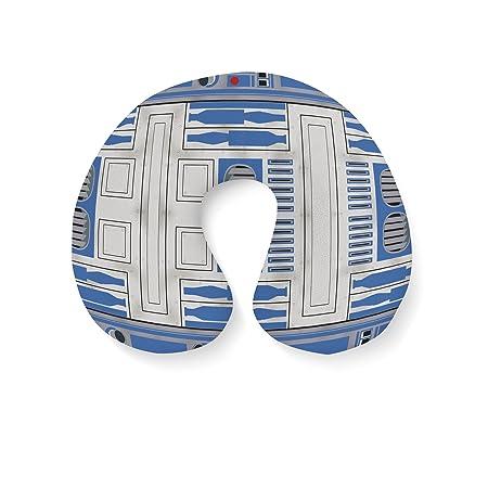 Poco azul Droid viajes cuello almohada hinchable, azul ...