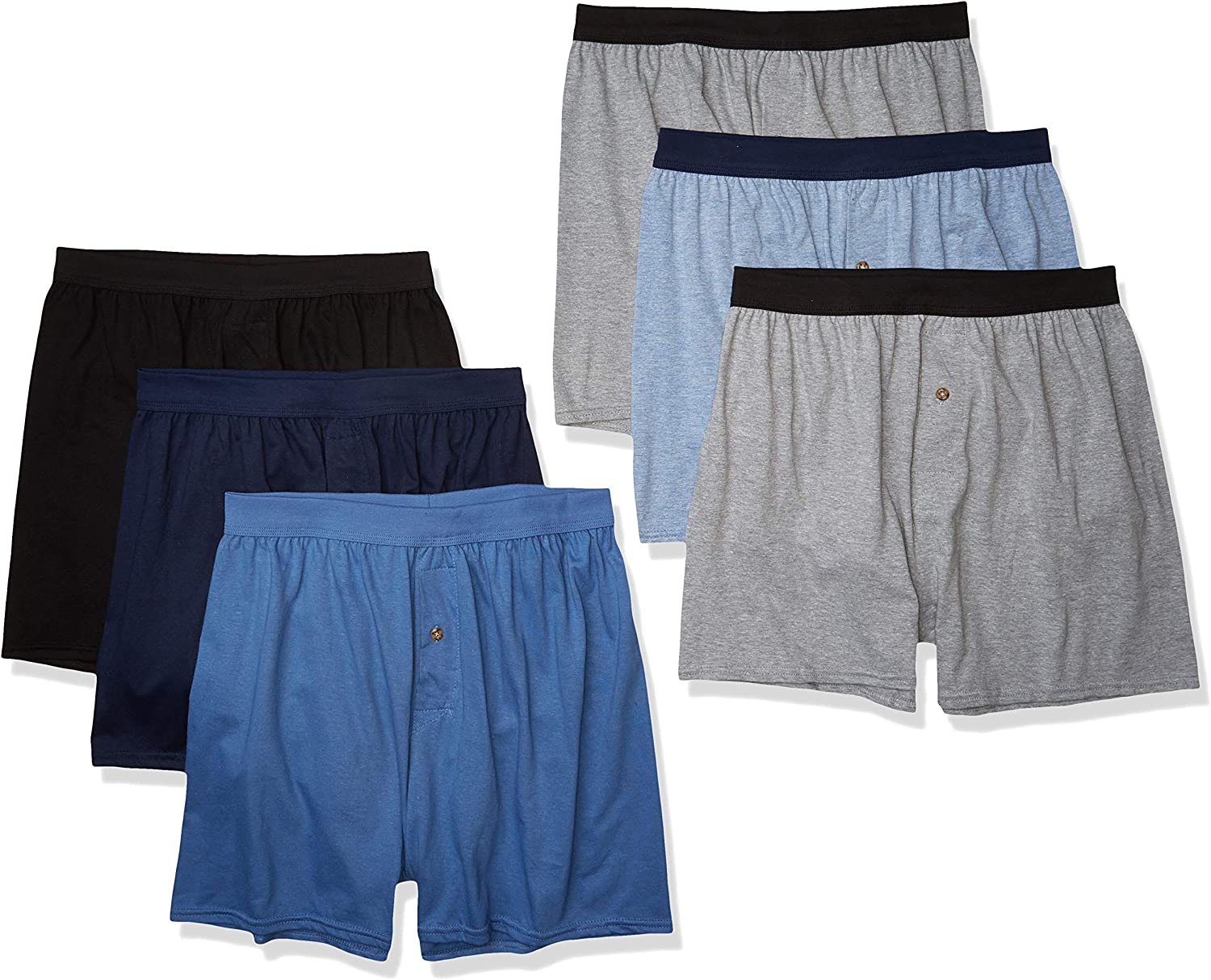 Hanes Men's Comfortsoft Boxer with ComfortFlex Waistbands at  Men's Clothing store