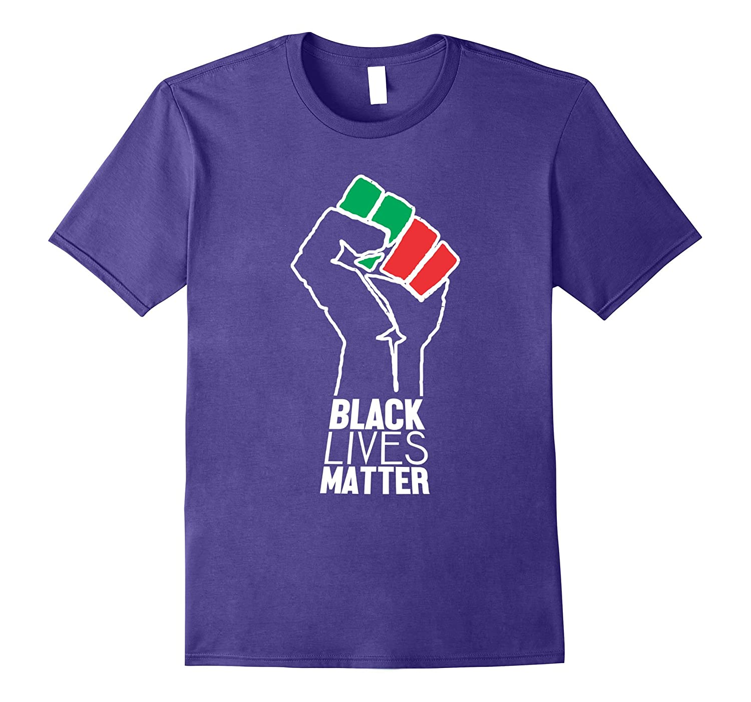 Black Lives Matter Fist T-Shirt-PL