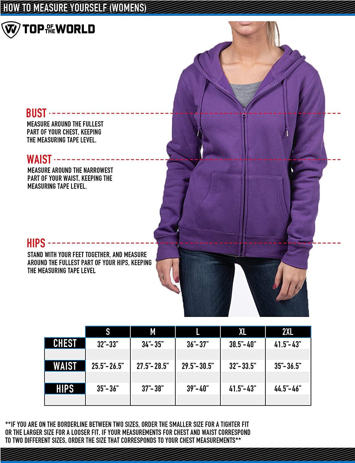 Top of the World Damen Essential Full Zip Fleece Hoodie Sweatshirt Utah Utes Red