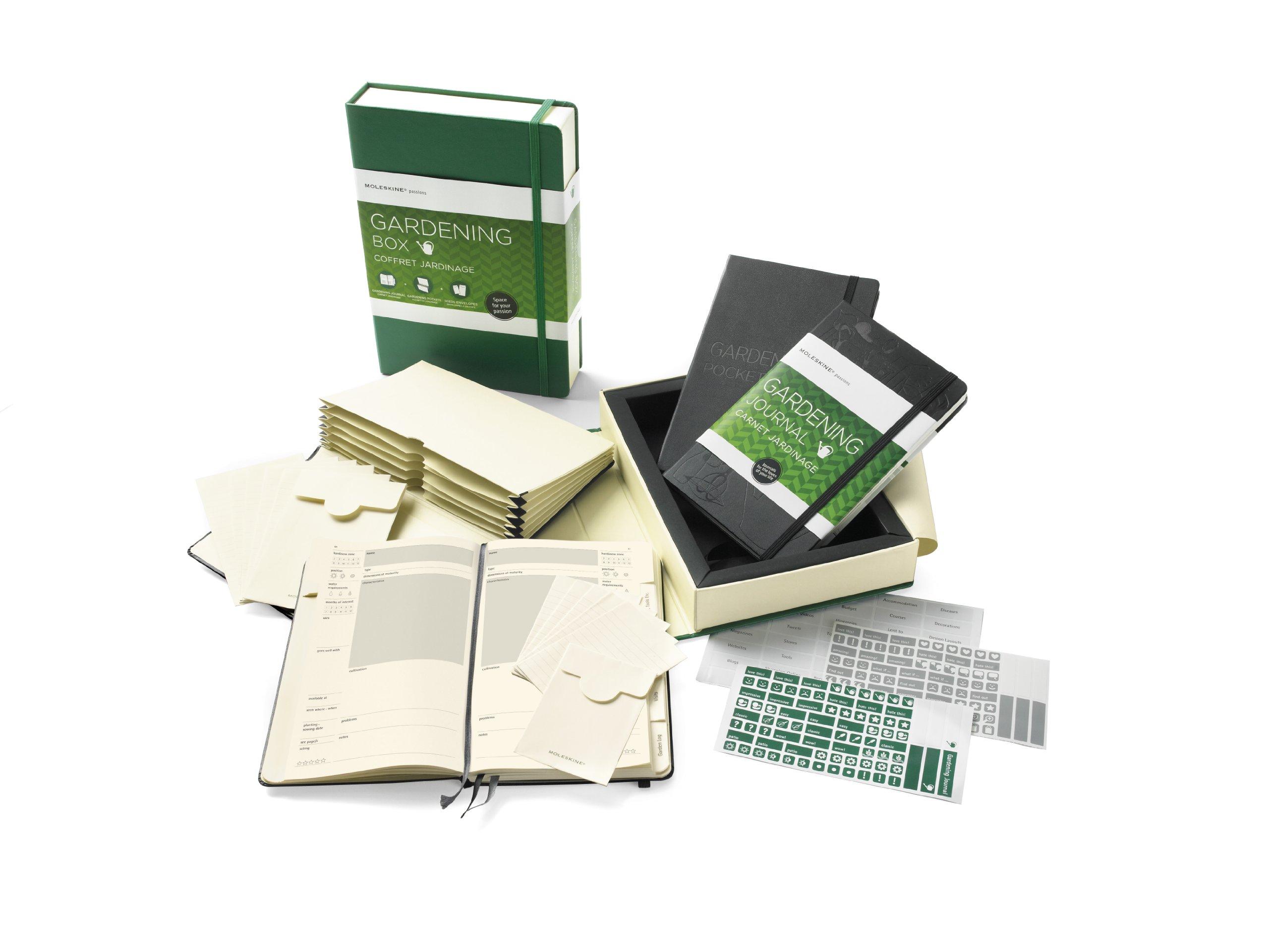 Amazon.com: Moleskine Gift Box   Gardening (7 X 10.25) (Gift Box Sets)  (9788866130161): Moleskine: Books