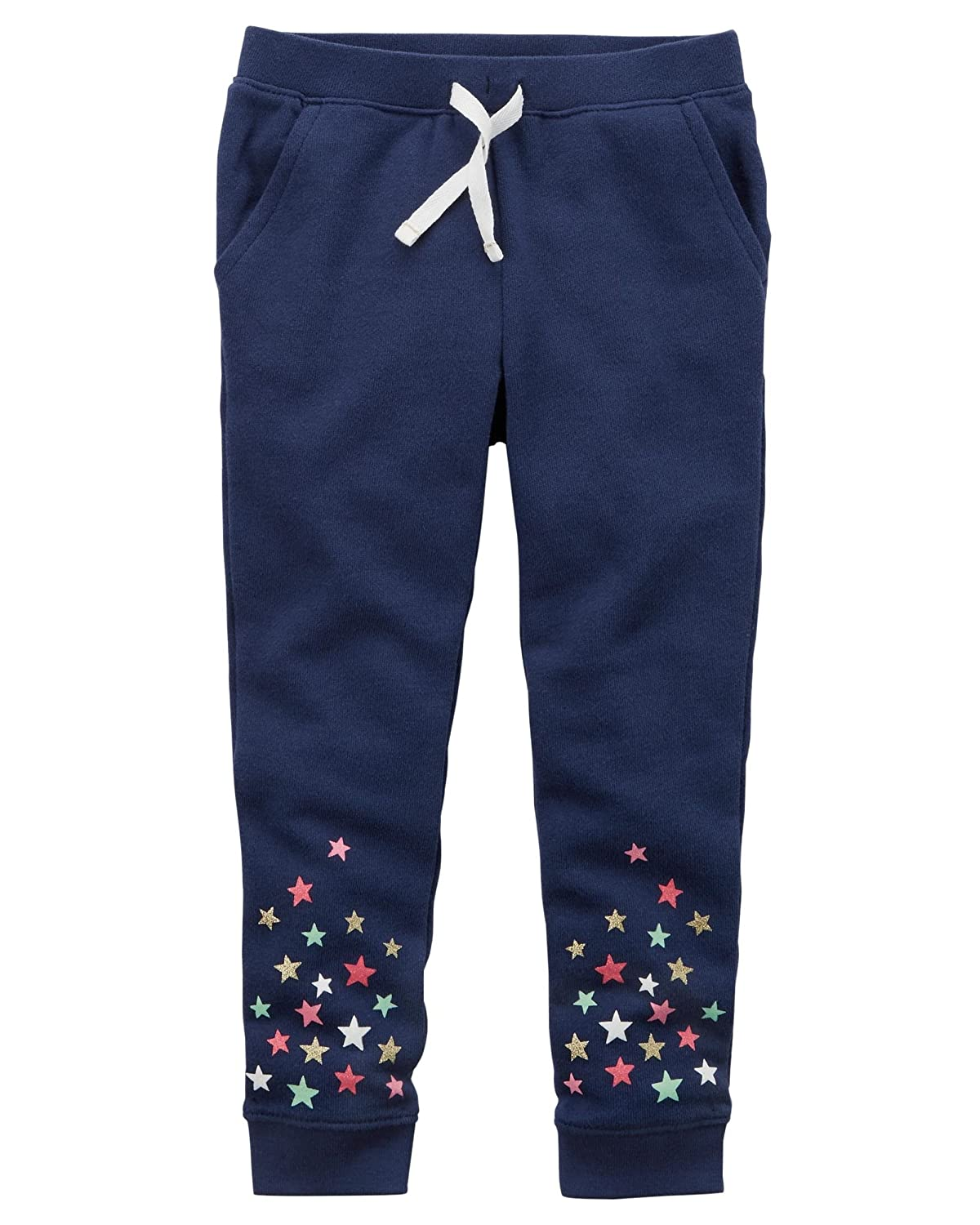 Carter's Girls' Pull-On French Terry Joggers