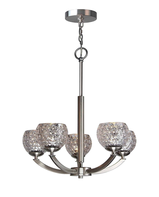 Amazon.com: Woodbridge Lighting 14315STNLE-C00514 - Lámpara ...