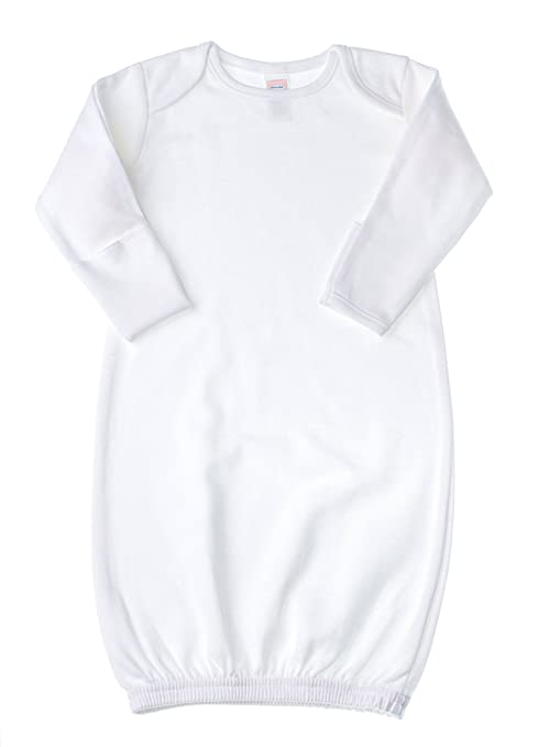 Baby Jay Baby-Boy Kimono Sleeper Gown Newborn White: Amazon.in: Baby
