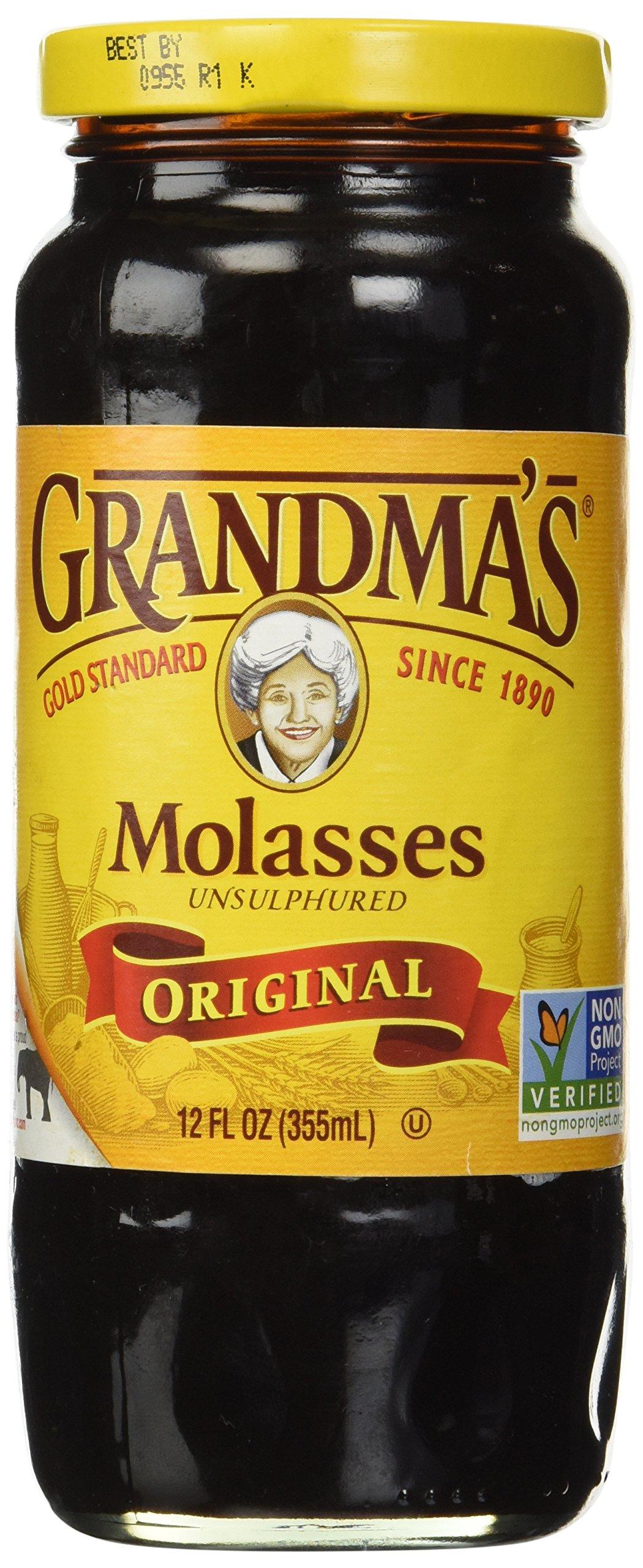 Grandma's Molasses Gold Unsulphured 12 Oz. (Pack of 2)