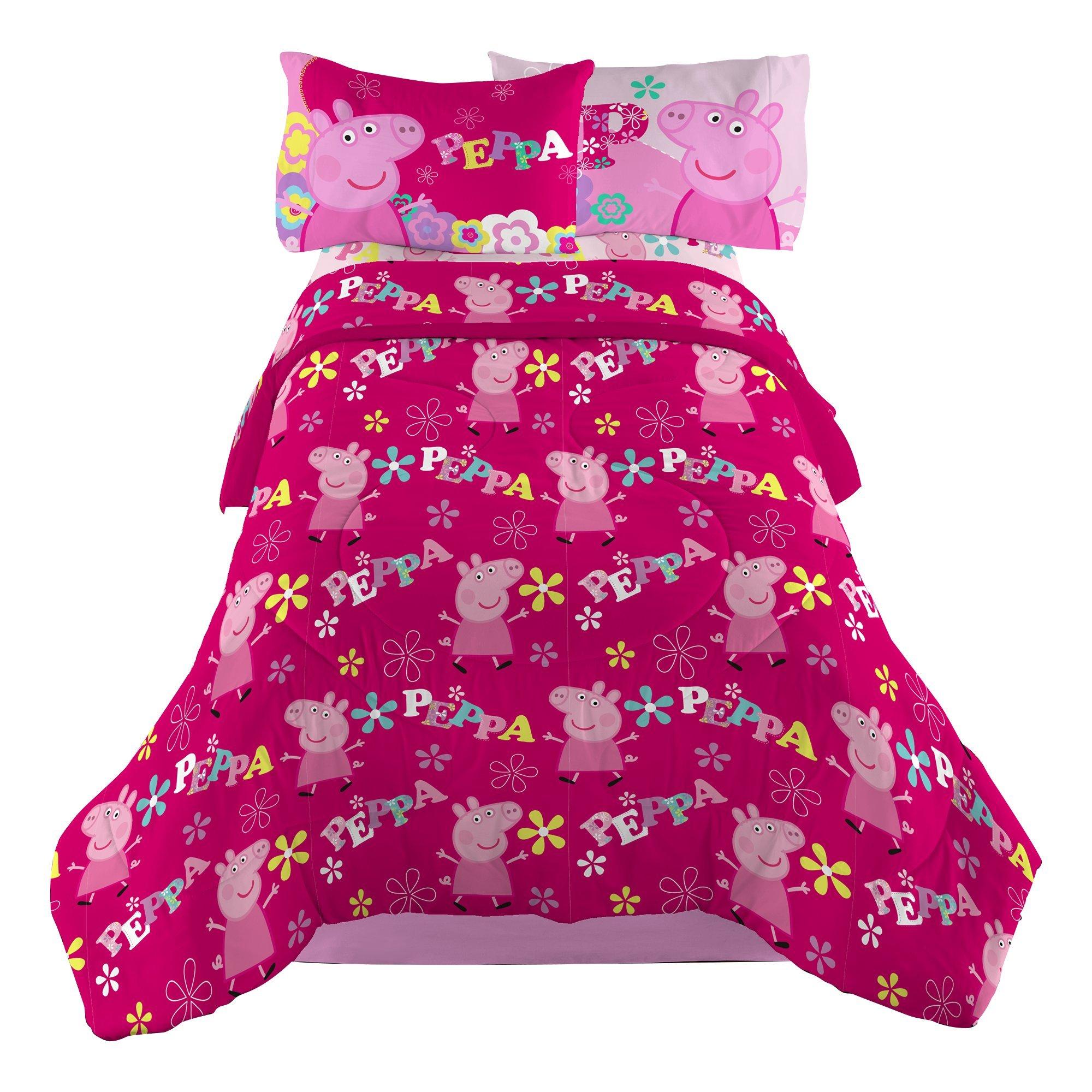 Entertainment One ''Peppa Pig Tweet Tweet Oink Microfiber Comforter, Twin