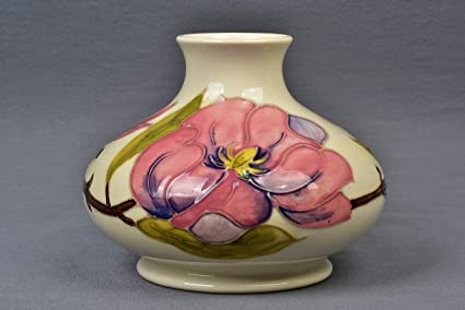 Amazon com: Moorcroft Pottery 1950-86 Pink Magnolia White