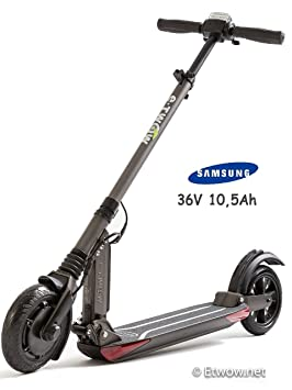 E-Twow Booster Samsung 10,5Ah Patinete,Gris Antracita, Talla Única