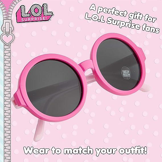 Gafas de sol chicas lol sorpresa-Uv-400 Niños Niño Personaje Con Licencia Luz Rosa