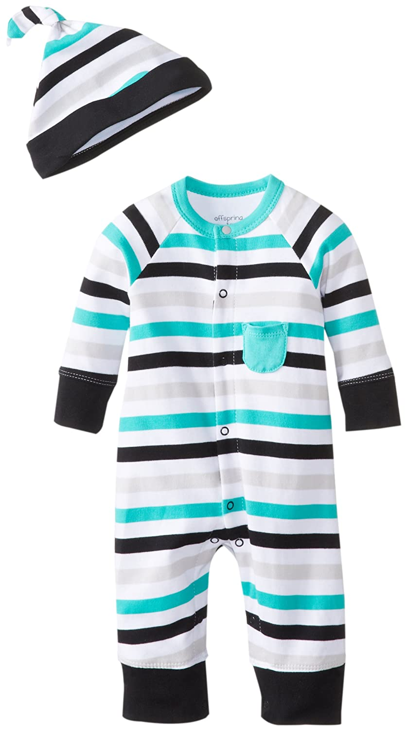 Amazon.com: Offspring - Baby Apparel Baby-Boys Newborn Zebra Stripe ...