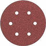 Bosch 2608605717 Hoja de Lija, 150 mm Set de 5 Piezas