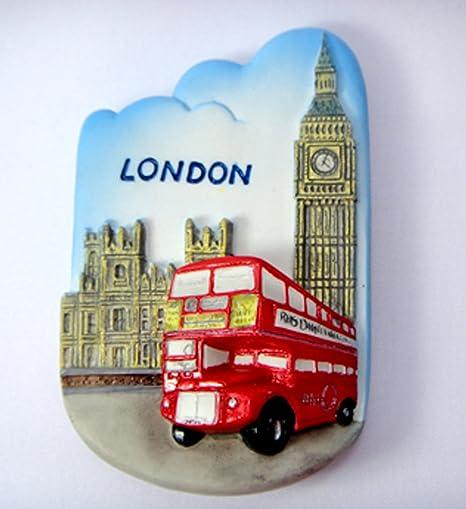 Imanes de nevera recuerdos landmark-red de bus de Londres/Big Ben ...
