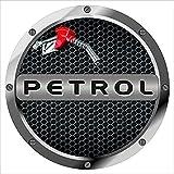Fusion Graphix Petrol Sticker for Universal car for Hyundai Grand I10 (Tank Petrol) 001