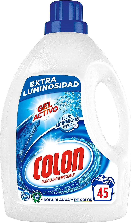 Colon Detergente para Ropa, Líquido Azul - 45 Dosis: Amazon.es ...