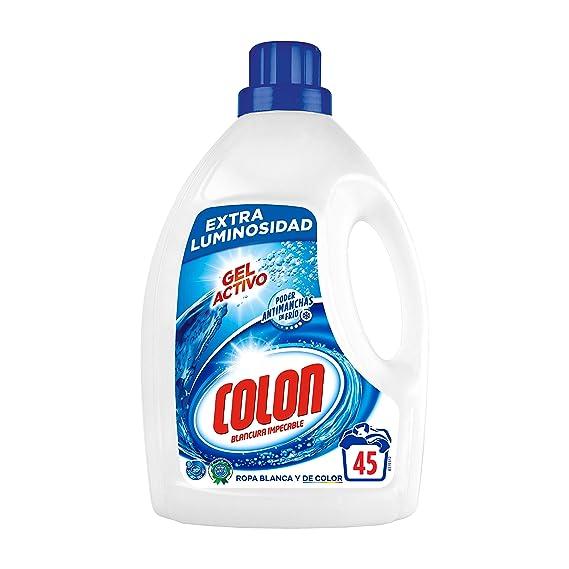 Colon Detergente para Ropa Líquido Azul 45 dosis: Amazon.es: Amazon Pantry