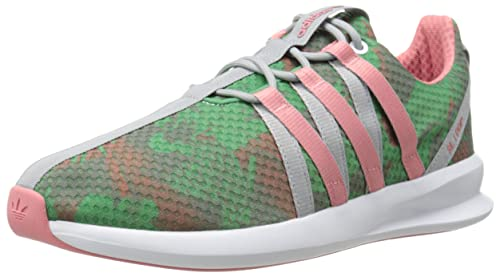adidas Originals Women's SL Loop Racer W Lifestyle Sneaker, White/Blush  Green/Vista