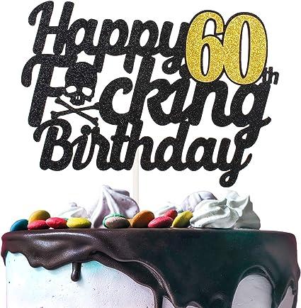 Fabulous Amazon Com Happy 60Th Birthday Cake Topper Handmade Birthday Gift Birthday Cards Printable Opercafe Filternl