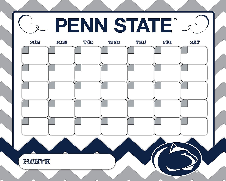 Penn Calendar.Amazon Com Penn State Calendar Penn State Nittany Lions Dry Erase