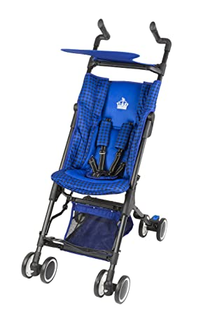 Little Royals Windsor Ultra Compact Folding Stroller - Royal Blue ...