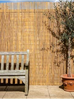 Natural Willow Screening Roll Garden Screen Fence Fencing Panel Wooden 4m 20m