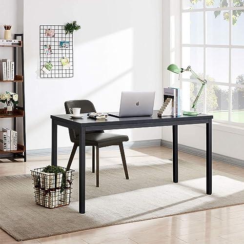 AMOAK 55 Simple Computer Desk PC Laptop Study Table
