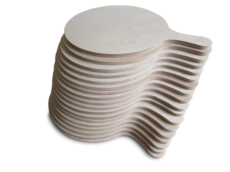 /Redonda/ /Varios tama/ños medium Tabla/para pizza/elegante y pr/áctica madera Art/ículo con defecto de f/ábrica