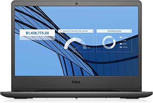 Dell Vostro 3401 14inch FHD AG 2 Side Narrow Border Display Laptop (10th gen i3-1005G1 / 4GB / 1TB / Integrated Graphics/ Win 10 + MS Office H&S 2019 / Black) D552124WIN9BE
